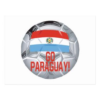 Go Paraguay Postcard