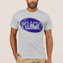 Men's Basic American Apparel T-Shirt with Go Pelagic! design