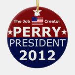 Go Perry 2012 for Christmas Tree Ceramic Ornament