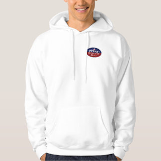 Go Perry 2012 over heart logo Hoodie