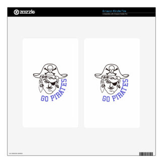 Go Pirates Kindle Fire Skins