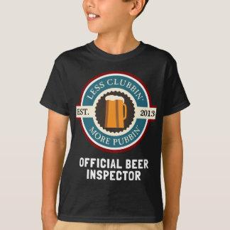 Go Pubbin' Official Beer Inspector Tee