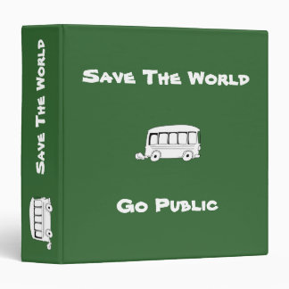 Go Public Cartoon Binder 1