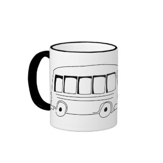 Go Public Cartoon Coffee Mug