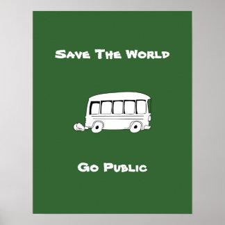 Go Public Cartoon Poster 1