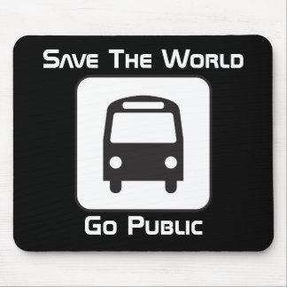 Go Public Negative Mousepad