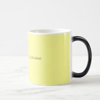 GO RAVEN SAMONE! 11 OZ MAGIC HEAT Color-Changing COFFEE MUG