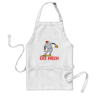 Go Red Adult Apron