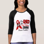 Go Red For Red Ribbon Week Shirts