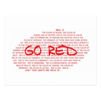 GO RED- Prevent Cardiovascular Disease Postcards
