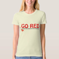 GO RED- Prevent Cardiovascular Disease T-Shirt