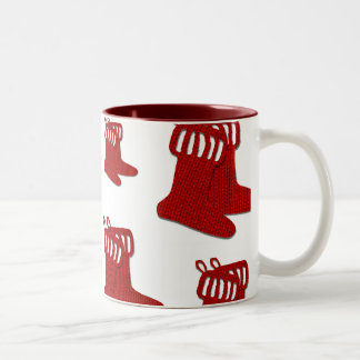 Go Red Stockings! Two-Tone Coffee Mug
