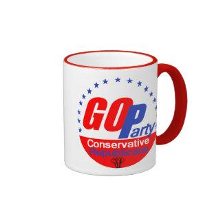 GO REPUBLICAN 2016 RINGER COFFEE MUG