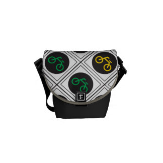 Go riding bicycles messenger bag