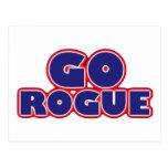Go Rogue Postcard