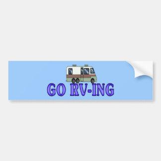 GO RV-ING CAR BUMPER STICKER