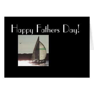 Go Sailing Fathers Day Card