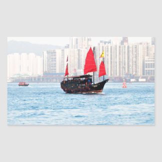 Go Sailing ! Rectangular Sticker
