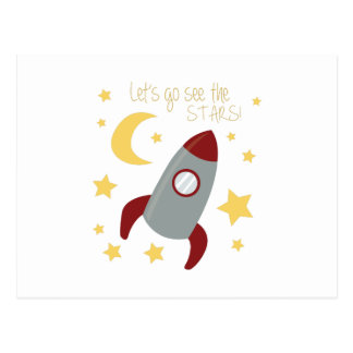 Go See the Stars Postcard