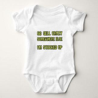 Go sell crazy somewhere else baby bodysuit