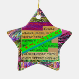 Go SHOPPING : Wear a LOW PRICE tag SHIRT BUTTON Christmas Tree Ornaments