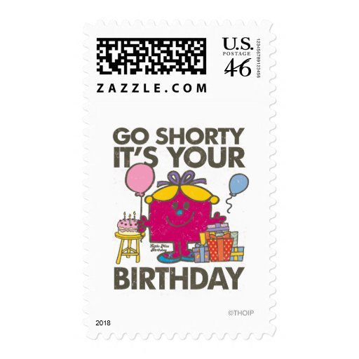 Go Shorty (Distressed) Postage