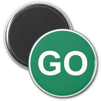 GO Sign Magnet