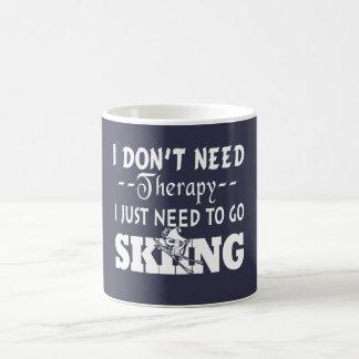 GO SKIING COFFEE MUG