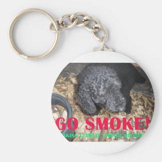 GO SMOKE KEYCHAIN