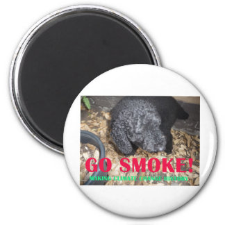 GO SMOKE REFRIGERATOR MAGNETS