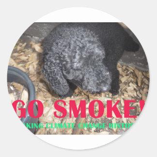 GO SMOKE STICKER