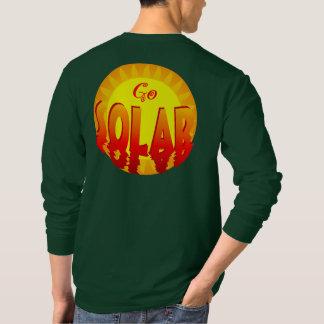 Go Solar Energy Slogan T-shirt