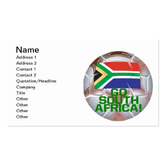 Go South Africa Business Card
