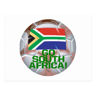 Go South Africa Postcard
