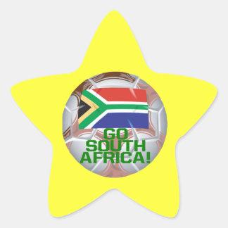 Go South Africa Star Sticker
