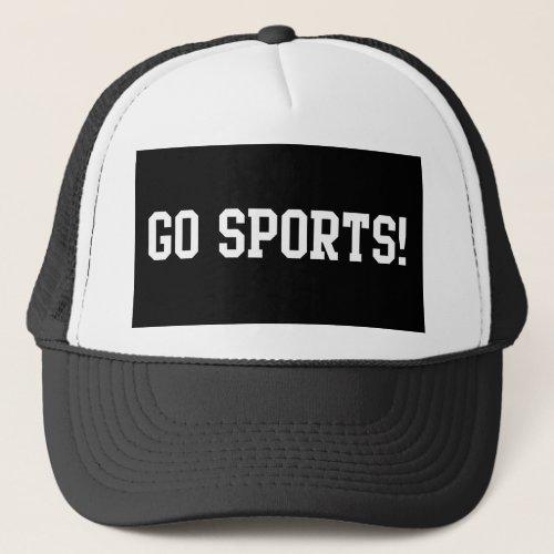Go Sports Trucker Hat