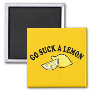 Go Suck A Lemon Magnet