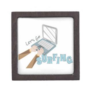 Go Surfing Jewelry Box