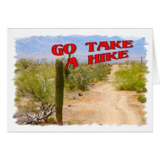 Go Take A Hike Card