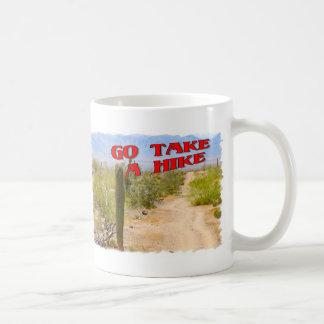 Go Take A Hike Coffee Mug