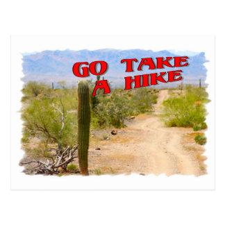 Go Take A Hike Postcard