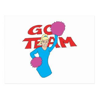 Go Team 3 Postcard