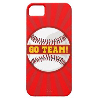 Go Team Baseball iPhone SE/5/5s Case