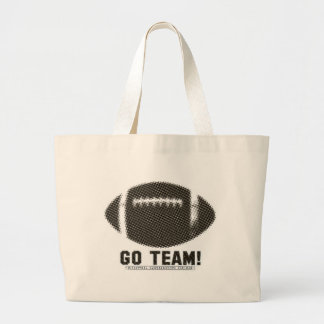 Go Team Black and Gold Bags