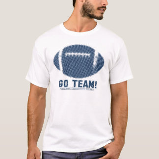 Go Team Blue and Silver T-Shirt
