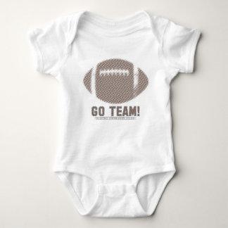 Go Team Brown Baby Bodysuit