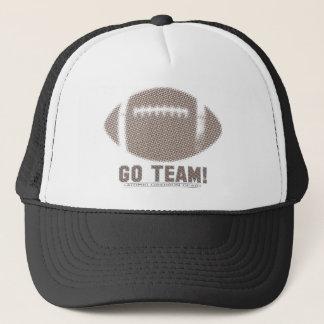 Go Team Brown Trucker Hat