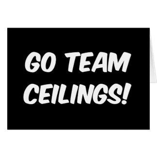 Go Team Ceilings Ultimate Fan Card