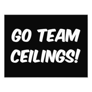Go Team Ceilings Ultimate Fan Art Photo