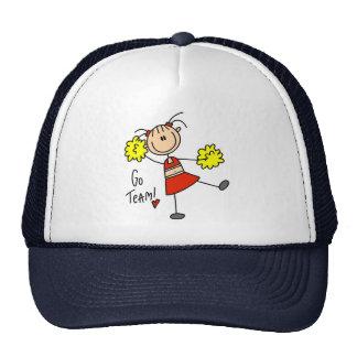 Go Team Cheerleader Hat